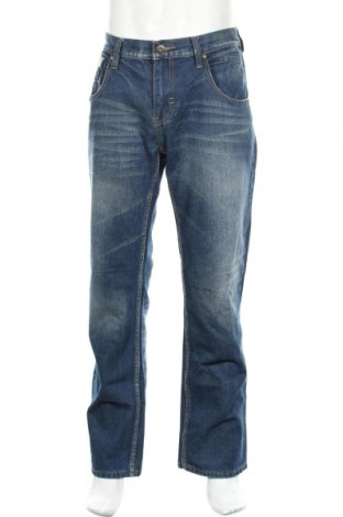 Мъжки дънки Artime, Размер XL, Цвят Син, 77% памук, 17% полиестер, 6% вискоза, Цена 20,16лв.
