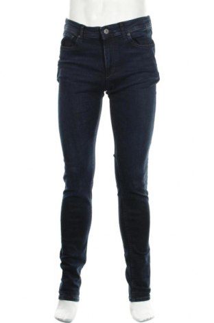 Мъжки дънки Jack & Jones, Размер M, Цвят Син, 79% памук, 14% лиосел, 5% полиестер, 2% еластан, Цена 28,00лв.