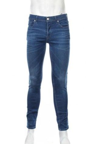 Мъжки дънки Jack & Jones, Размер M, Цвят Син, 97% памук, 3% еластан, Цена 33,60лв.