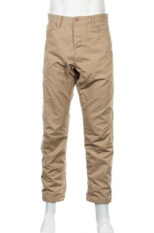 Мъжки дънки Jack & Jones, Размер L, Цвят Бежов, 35% памук, 65% полиестер, Цена 30,45лв.