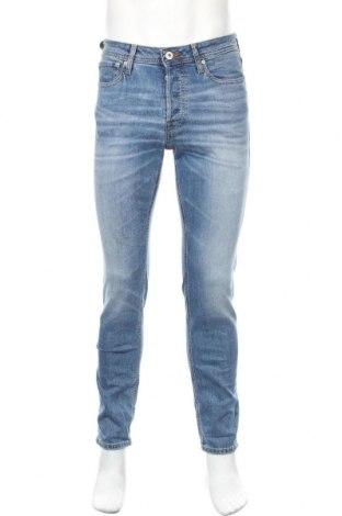 Мъжки дънки Jack & Jones, Размер S, Цвят Син, 98% памук, 2% еластан, Цена 61,95лв.
