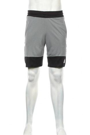Ανδρικό κοντό παντελόνι Adidas, Μέγεθος S, Χρώμα Γκρί, Πολυεστέρας, Τιμή 30,54€