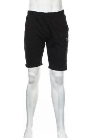 Мъжки къс панталон Jack & Jones, Размер M, Цвят Черен, 80% памук, 20% полиестер, Цена 26,25лв.