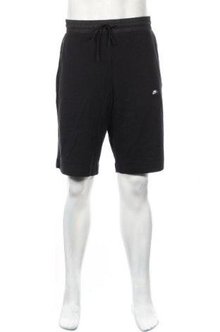 Ανδρικό κοντό παντελόνι Nike, Μέγεθος XL, Χρώμα Μαύρο, 99% βαμβάκι, 1% πολυαμίδη, Τιμή 30,54€