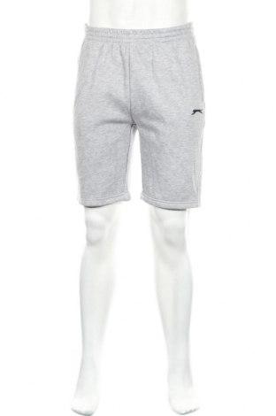 Ανδρικό κοντό παντελόνι Slazenger, Μέγεθος M, Χρώμα Γκρί, 65% πολυεστέρας, 35% βαμβάκι, Τιμή 11,21€