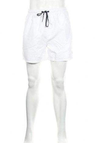 Ανδρικό κοντό παντελόνι Smith & Jones, Μέγεθος L, Χρώμα Λευκό, Πολυεστέρας, Τιμή 12,99€