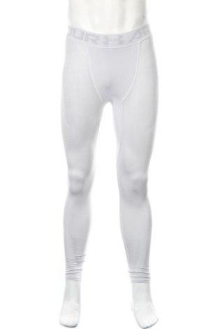 Męskie legginsy Under Armour, Rozmiar S, Kolor Szary, 64% poliester, 26% poliamid, 10% elastyna, Cena 166,88zł