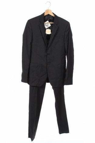 Ανδρικό κοστούμι Costume National, Μέγεθος M, Χρώμα Μαύρο, Μαλλί, Τιμή 244,25€