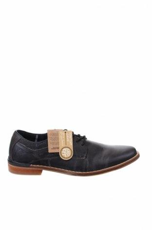 Ανδρικά παπούτσια Bullboxer, Μέγεθος 41, Χρώμα Γκρί, Γνήσιο δέρμα, Τιμή 60,98€