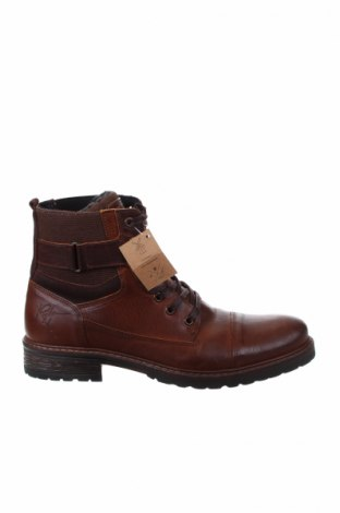 Ανδρικά παπούτσια Bullboxer, Μέγεθος 42, Χρώμα Καφέ, Γνήσιο δέρμα, Τιμή 68,19€