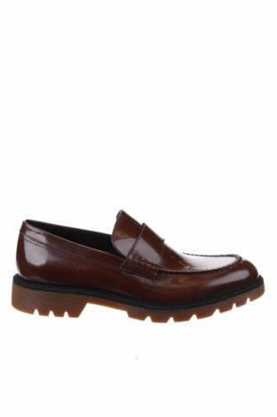 Ανδρικά παπούτσια Calvin Klein, Μέγεθος 44, Χρώμα Καφέ, Γνήσιο δέρμα, Τιμή 123,64€