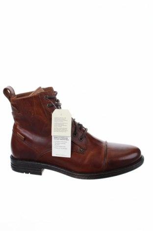 Ανδρικά παπούτσια Levi's, Μέγεθος 43, Χρώμα Καφέ, Γνήσιο δέρμα, Τιμή 73,92€