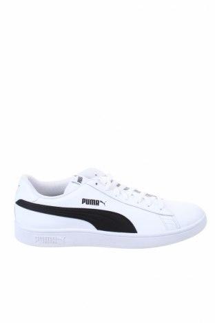 Ανδρικά παπούτσια PUMA, Μέγεθος 44, Χρώμα Λευκό, Γνήσιο δέρμα, Τιμή 53,76€