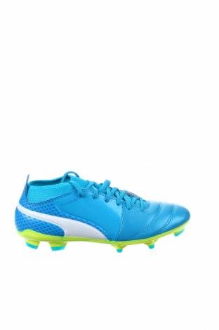 Ανδρικά παπούτσια PUMA, Μέγεθος 42, Χρώμα Μπλέ, Γνήσιο δέρμα, Τιμή 60,98€