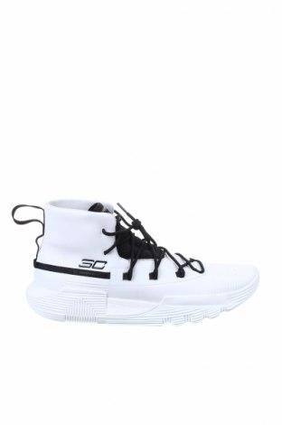 Ανδρικά παπούτσια Under Armour, Μέγεθος 45, Χρώμα Λευκό, Δερματίνη, Τιμή 68,19€