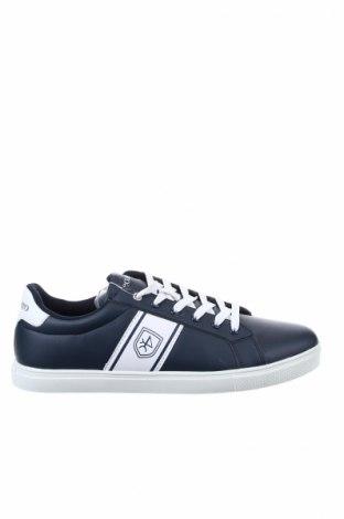 Ανδρικά παπούτσια VALECUATRO, Μέγεθος 43, Χρώμα Μπλέ, Δερματίνη, Τιμή 46,54€