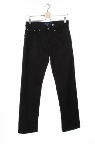 Мъжки панталон Atelier GARDEUR, Размер M, Цвят Черен, 98% памук, 2% еластан, Цена 28,56лв.