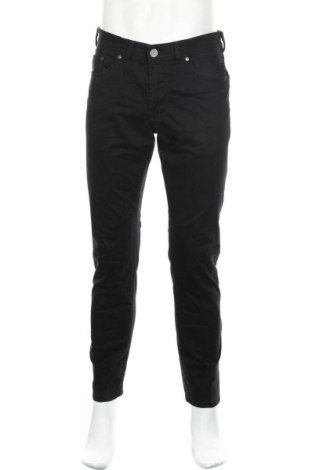 Мъжки панталон Atelier GARDEUR, Размер L, Цвят Черен, 97% памук, 3% еластан, Цена 34,81лв.
