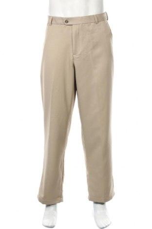 Мъжки панталон Izod, Размер XL, Цвят Бежов, Полиестер, Цена 5,46лв.