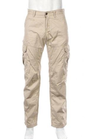 Ανδρικό παντελόνι S.Oliver, Μέγεθος M, Χρώμα  Μπέζ, Βαμβάκι, Τιμή 15,43€