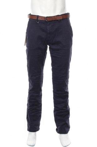 Ανδρικό παντελόνι Tom Tailor, Μέγεθος L, Χρώμα Μπλέ, 98% βαμβάκι, 2% ελαστάνη, Τιμή 30,54€
