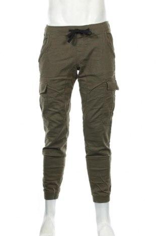 Ανδρικό παντελόνι Tom Tailor, Μέγεθος M, Χρώμα Πράσινο, 98% βαμβάκι, 2% ελαστάνη, Τιμή 30,54€