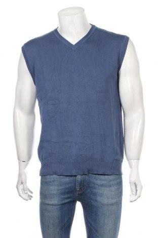 Ανδρικό πουλόβερ Biaggini, Μέγεθος L, Χρώμα Μπλέ, Βαμβάκι, Τιμή 22,73€