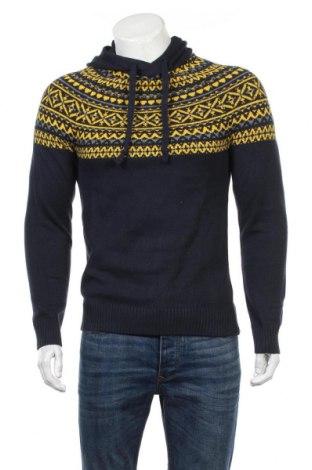 Pánsky sveter  Bpc Bonprix Collection, Veľkosť S, Farba Modrá, 70% bavlna, 30% polyamide, Cena  21,65€