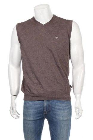 Ανδρικό πουλόβερ Fynch-Hatton, Μέγεθος L, Χρώμα Καφέ, Βαμβάκι, Τιμή 14,29€