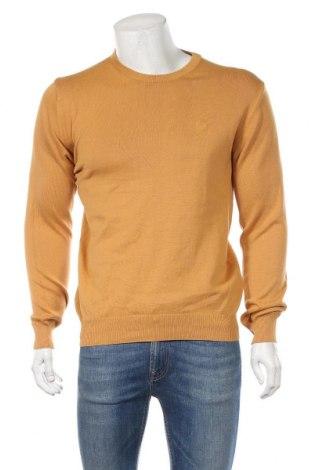 Pánsky sveter  Gas, Veľkosť L, Farba Žltá, Bavlna, Cena  36,29€