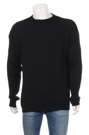 Pánsky sveter  Piattelli, Veľkosť XL, Farba Čierna, Vlna, Cena  36,86€