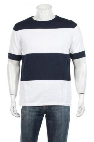 Pánsky sveter  Pull&Bear, Veľkosť M, Farba Modrá, Bavlna, Cena  14,69€