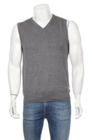 Ανδρικό πουλόβερ Straight Up, Μέγεθος M, Χρώμα Γκρί, Βαμβάκι, Τιμή 18,84€