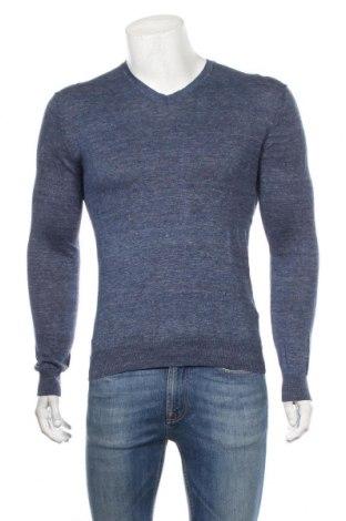 Ανδρικό πουλόβερ Uniqlo, Μέγεθος S, Χρώμα Μπλέ, 89% λινό, 11% πολυαμίδη, Τιμή 14,94€
