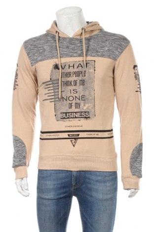 Ανδρική μπλούζα, Μέγεθος M, Χρώμα  Μπέζ, 93% βαμβάκι, 7% ελαστάνη, Τιμή 12,86€