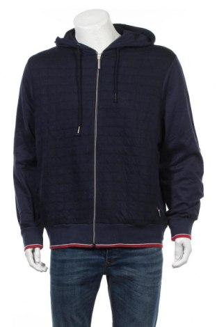 Męska bluza Bpc Bonprix Collection, Rozmiar L, Kolor Niebieski, 60% bawełna, 40% poliester, Cena 82,50zł