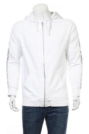 Ανδρικό φούτερ Calvin Klein Jeans, Μέγεθος XL, Χρώμα Λευκό, 97% βαμβάκι, 3% ελαστάνη, Τιμή 34,41€