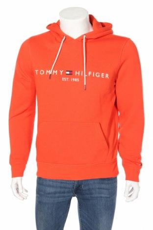 Ανδρικό φούτερ Tommy Hilfiger, Μέγεθος M, Χρώμα Πορτοκαλί, 64% βαμβάκι, 36% πολυεστέρας, Τιμή 42,94€