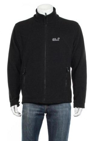 Ανδρική ζακέτα fleece Jack Wolfskin, Μέγεθος L, Χρώμα Μαύρο, Πολυεστέρας, Τιμή 31,82€