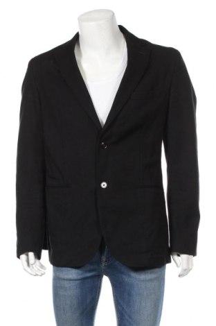 Ανδρικό σακάκι Massimo Dutti, Μέγεθος XL, Χρώμα Μαύρο, Βαμβάκι, Τιμή 68,19€