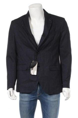 Ανδρικό σακάκι Massimo Dutti, Μέγεθος L, Χρώμα Μπλέ, Βαμβάκι, Τιμή 71,81€