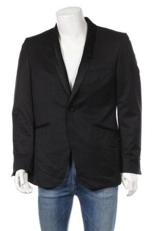 Ανδρικό σακάκι Massimo Dutti, Μέγεθος L, Χρώμα Μαύρο, 100% μαλλί, Τιμή 86,78€