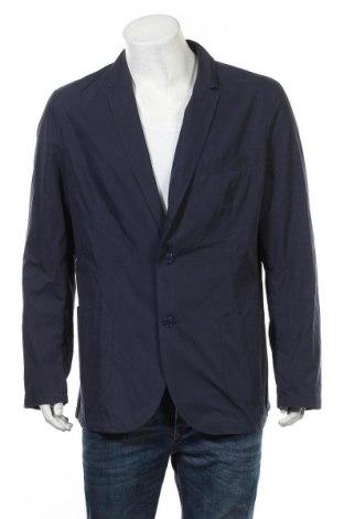 Ανδρικό σακάκι Rainbow, Μέγεθος XXL, Χρώμα Μπλέ, 65% βαμβάκι, 35% πολυαμίδη, Τιμή 32,48€