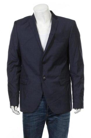 Ανδρικό σακάκι S.Oliver, Μέγεθος XL, Χρώμα Μπλέ, 80% μαλλί, 10% πολυεστέρας, 10% πολυαμίδη, Τιμή 68,19€