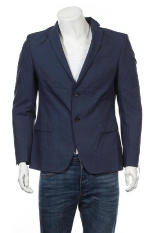 Ανδρικό σακάκι S.Oliver, Μέγεθος M, Χρώμα Μπλέ, Τιμή 42,94€