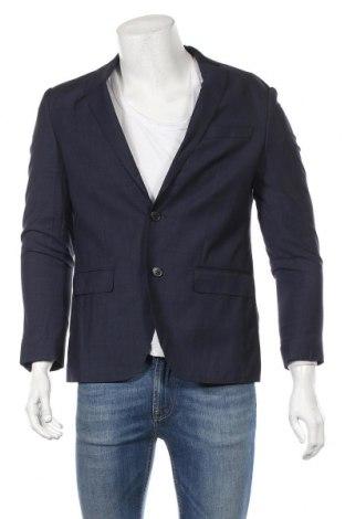 Ανδρικό σακάκι S.Oliver, Μέγεθος M, Χρώμα Μπλέ, 80% μαλλί, 10% πολυεστέρας, 10% πολυαμίδη, Τιμή 70,02€