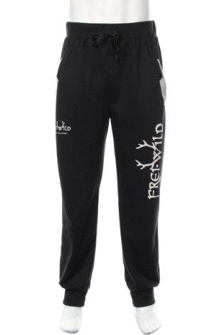 Ανδρικό αθλητικό παντελόνι Db, Μέγεθος L, Χρώμα Μαύρο, 65% πολυεστέρας, 35% βαμβάκι, Τιμή 17,54€