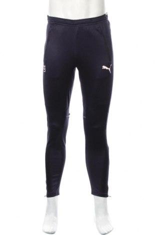 Ανδρικό αθλητικό παντελόνι PUMA, Μέγεθος S, Χρώμα Μπλέ, Τιμή 11,69€