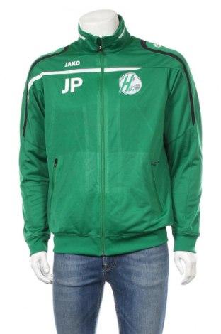 Męska bluza sportowa Jako, Rozmiar M, Kolor Zielony, Poliester, Cena 165,60zł