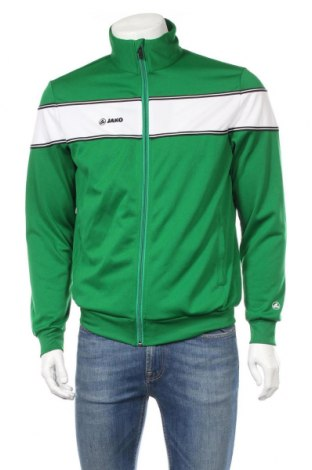 Męska bluza sportowa Jako, Rozmiar M, Kolor Zielony, Poliester, Cena 86,40zł
